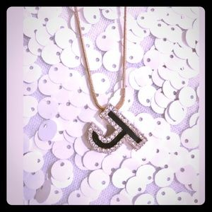 "Jewelry - Letter ""J"" Initial Necklace"
